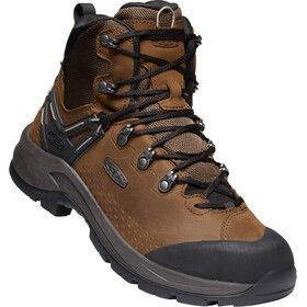 Keen Wild Sky WP Botas Corte Medio Hombre, dark earth/black